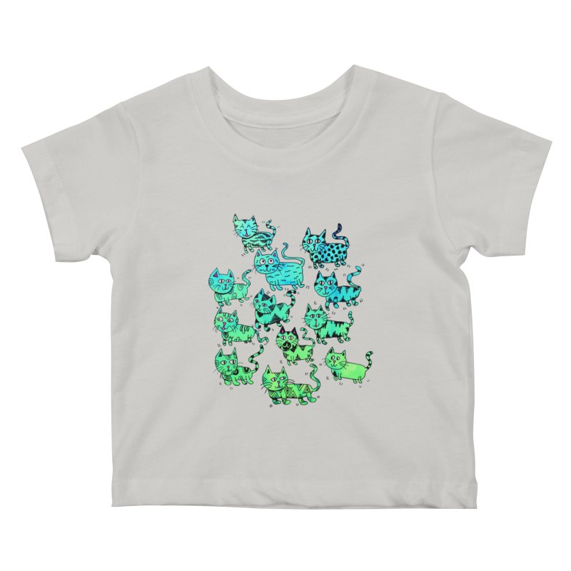 Catwater Kids Baby T-Shirt by PRINTMEGGIN