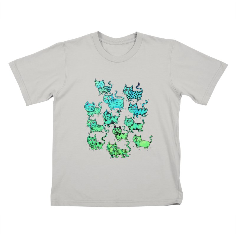 Catwater Kids T-Shirt by PRINTMEGGIN