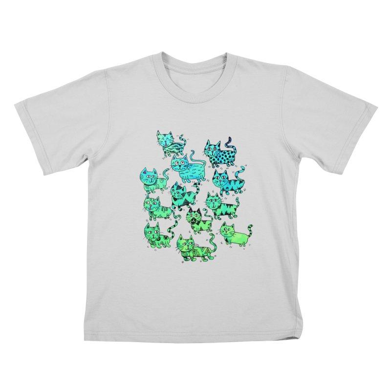Catwater Kids T-Shirt by PRINTMEGGIN