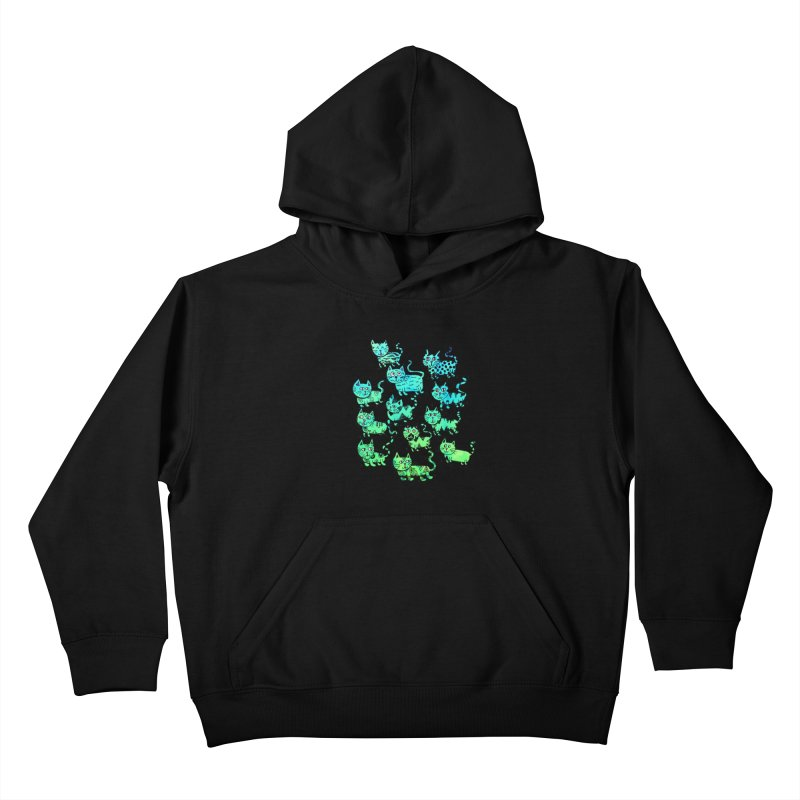 Catwater Kids Pullover Hoody by PRINTMEGGIN
