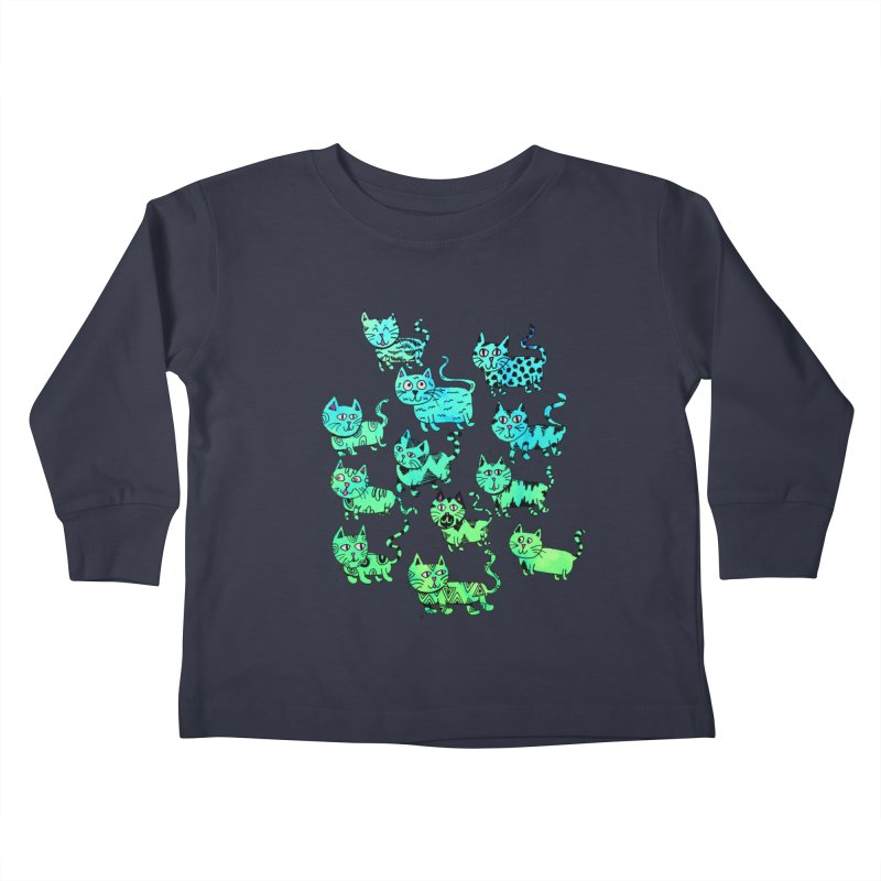 Catwater Kids Toddler Longsleeve T-Shirt by PRINTMEGGIN