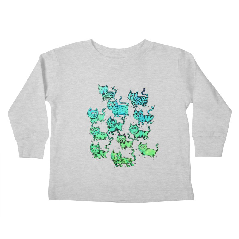 Catwater Kids Toddler Longsleeve T-Shirt by PRINTMEGGIN