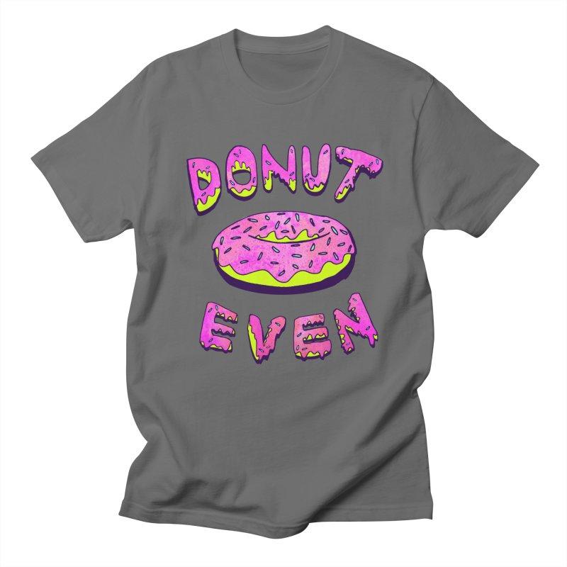 Donut Even Men's T-Shirt by PRINTMEGGIN