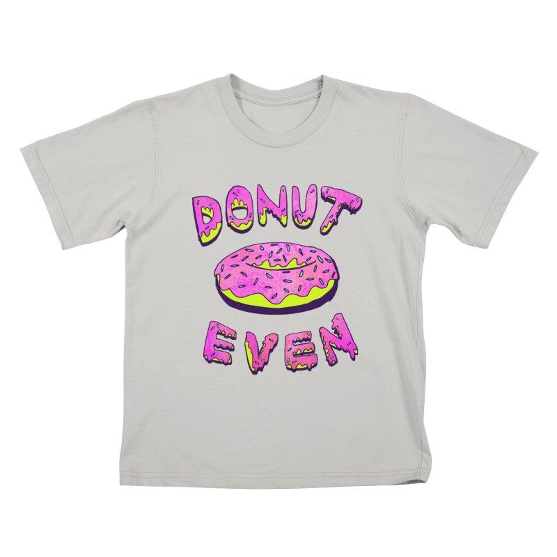 Donut Even Kids T-shirt by PRINTMEGGIN