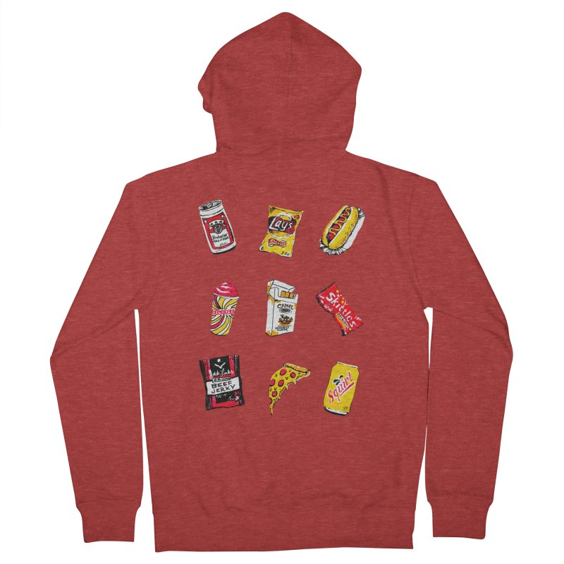 Snacksterpiece Women's Zip-Up Hoody by PRINTMEGGIN