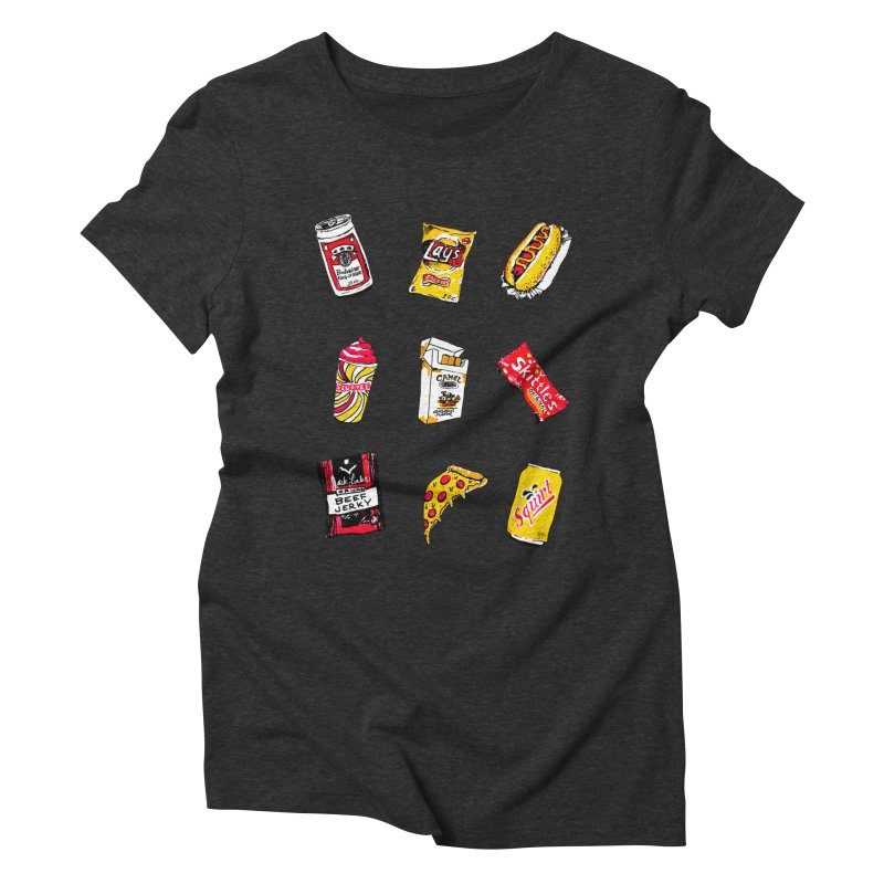 Snacksterpiece Women's Triblend T-Shirt by PRINTMEGGIN