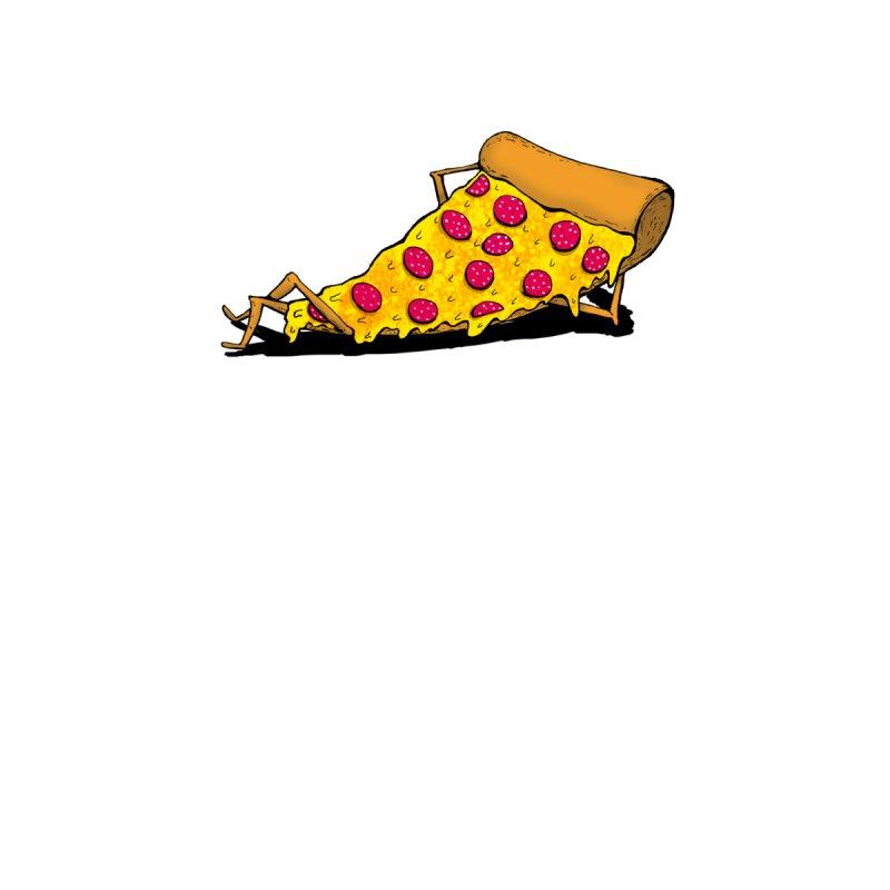 Pizza Lounging Men's Triblend T-shirt by PRINTMEGGIN