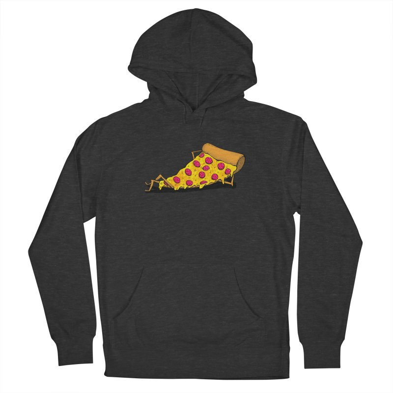 Pizza Lounging Men's Pullover Hoody by PRINTMEGGIN