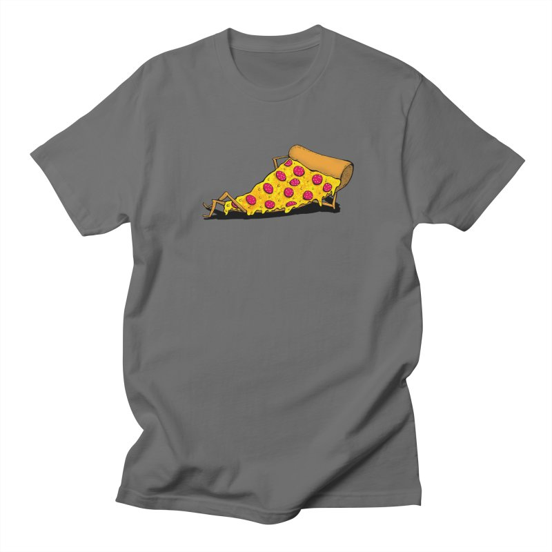 Pizza Lounging Men's T-Shirt by PRINTMEGGIN