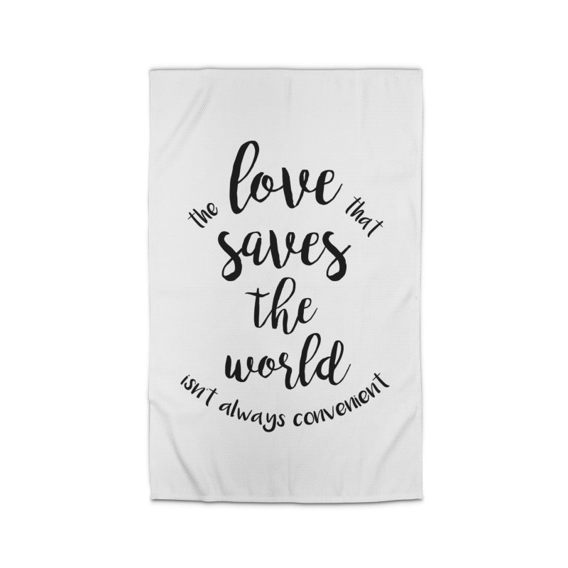 LOVE SAVES THE WORLD   by PRINTMEGGIN