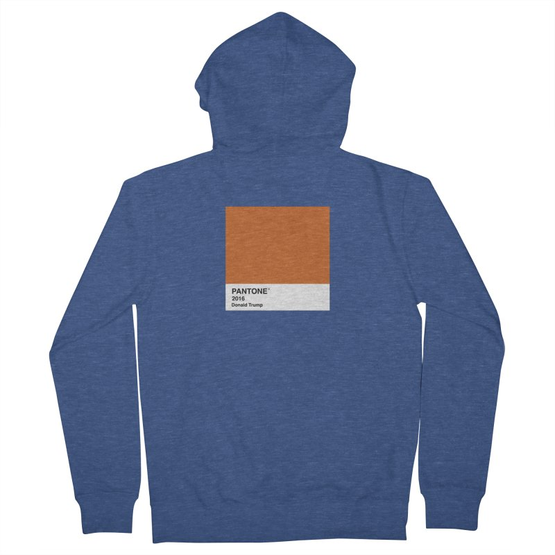 Donald Trump Pantone Women's Zip-Up Hoody by PRINTMEGGIN