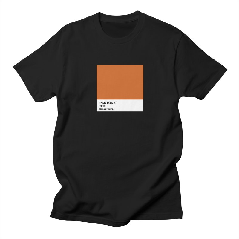 Donald Trump Pantone Men's T-Shirt by PRINTMEGGIN