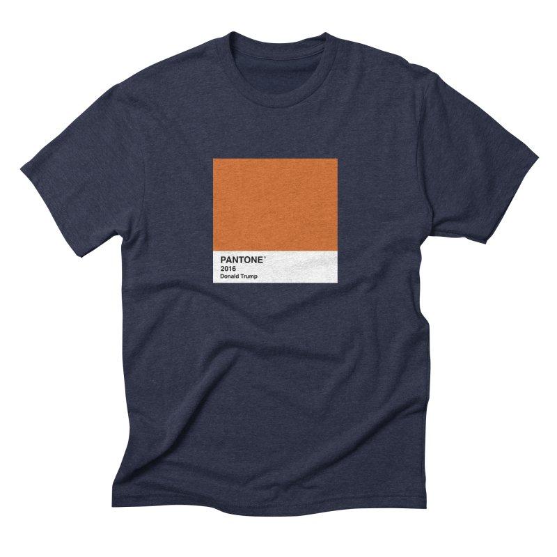 Donald Trump Pantone Men's Triblend T-shirt by PRINTMEGGIN