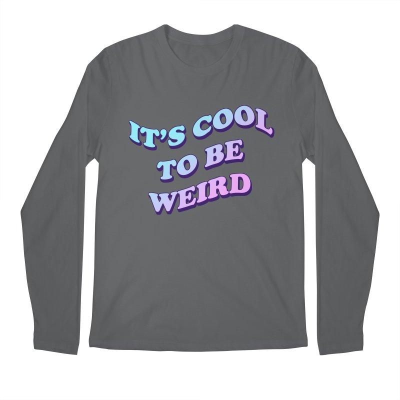 Cool 2 B Weird Men's Longsleeve T-Shirt by PRINTMEGGIN