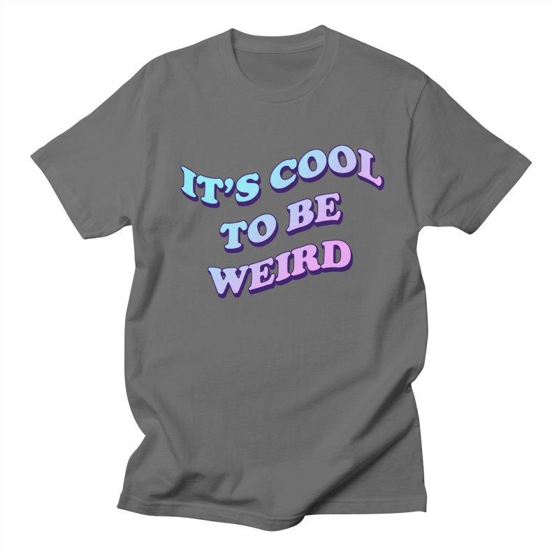 Cool 2 B Weird Men's Lounge Pants by PRINTMEGGIN