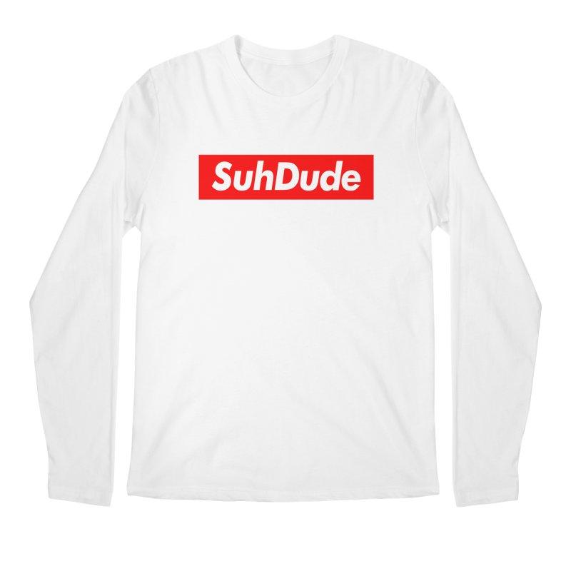SuhDude Men's Longsleeve T-Shirt by PRINTMEGGIN