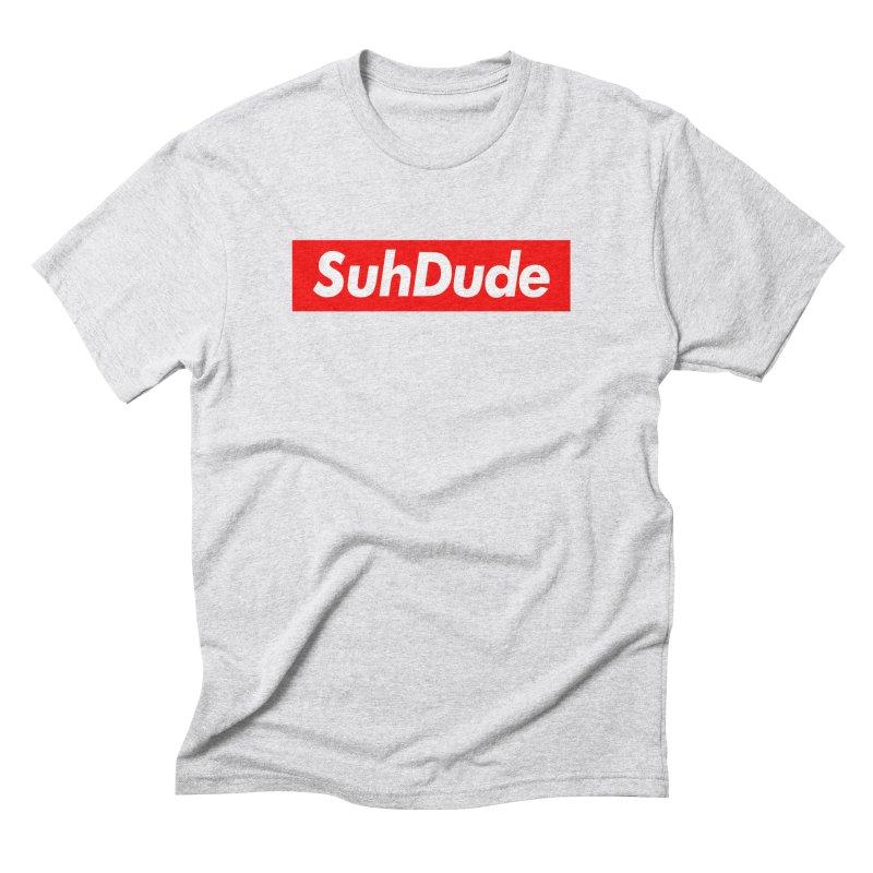 SuhDude Men's Triblend T-shirt by PRINTMEGGIN