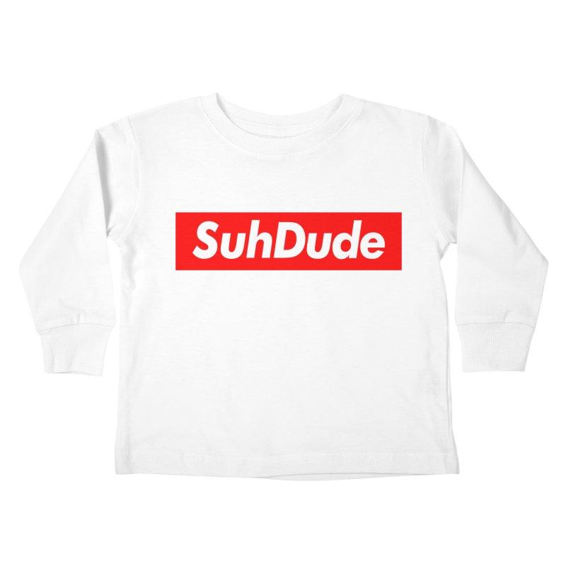 SuhDude Kids Toddler Longsleeve T-Shirt by PRINTMEGGIN