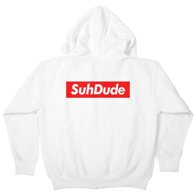 SuhDude Kids Zip-Up Hoody by PRINTMEGGIN