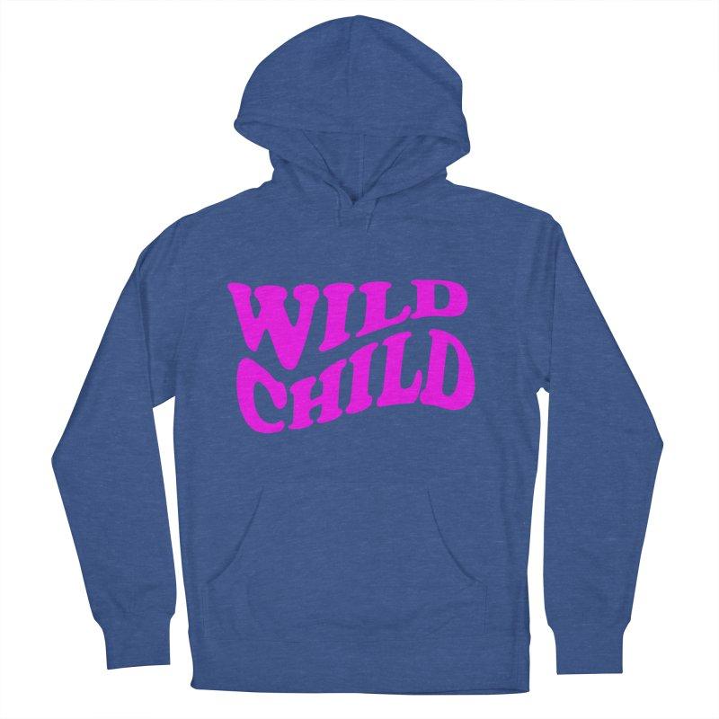WILD CHILD Women's Pullover Hoody by PRINTMEGGIN