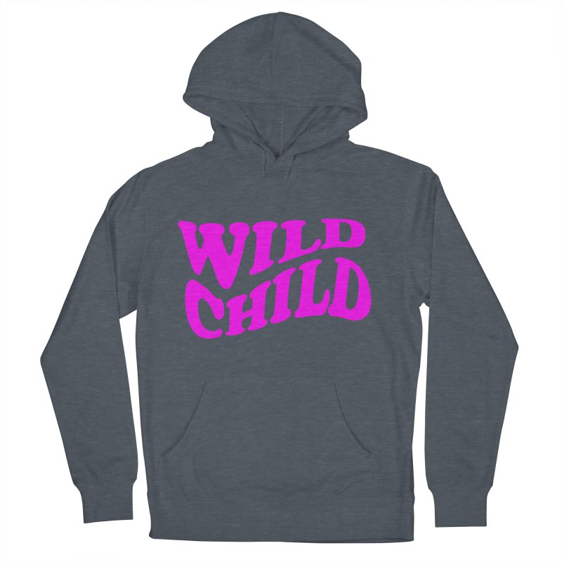 WILD CHILD Men's Pullover Hoody by PRINTMEGGIN