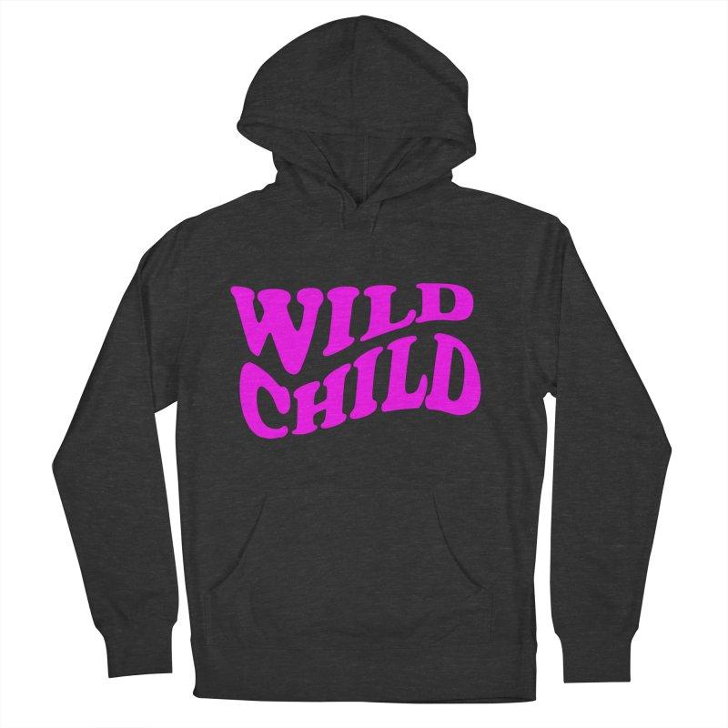 WILD CHILD Men's Pullover Hoody by PRINTMEGGIN