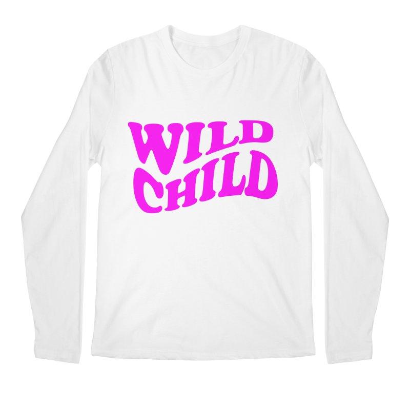 WILD CHILD Men's Longsleeve T-Shirt by PRINTMEGGIN