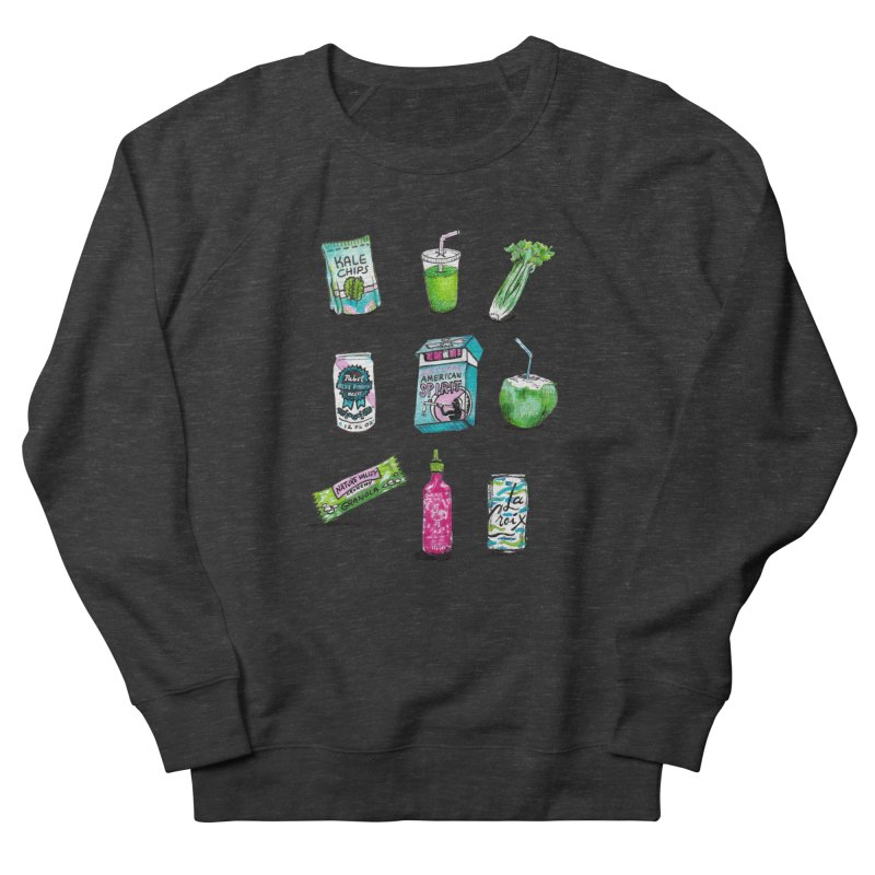 Snacksterpieces - Natural  Women's Sweatshirt by PRINTMEGGIN