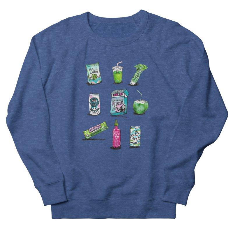 Snacksterpieces - Natural  Women's Sweatshirt by PRINTMEGGIN