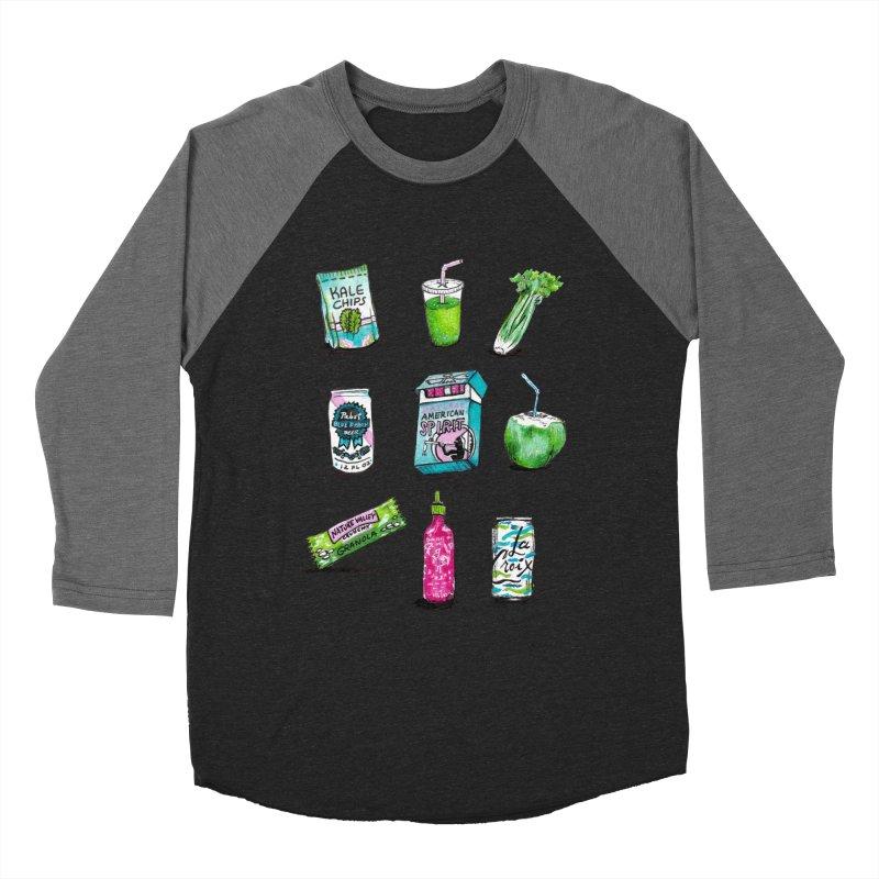 Snacksterpieces - Natural  Women's Baseball Triblend T-Shirt by PRINTMEGGIN