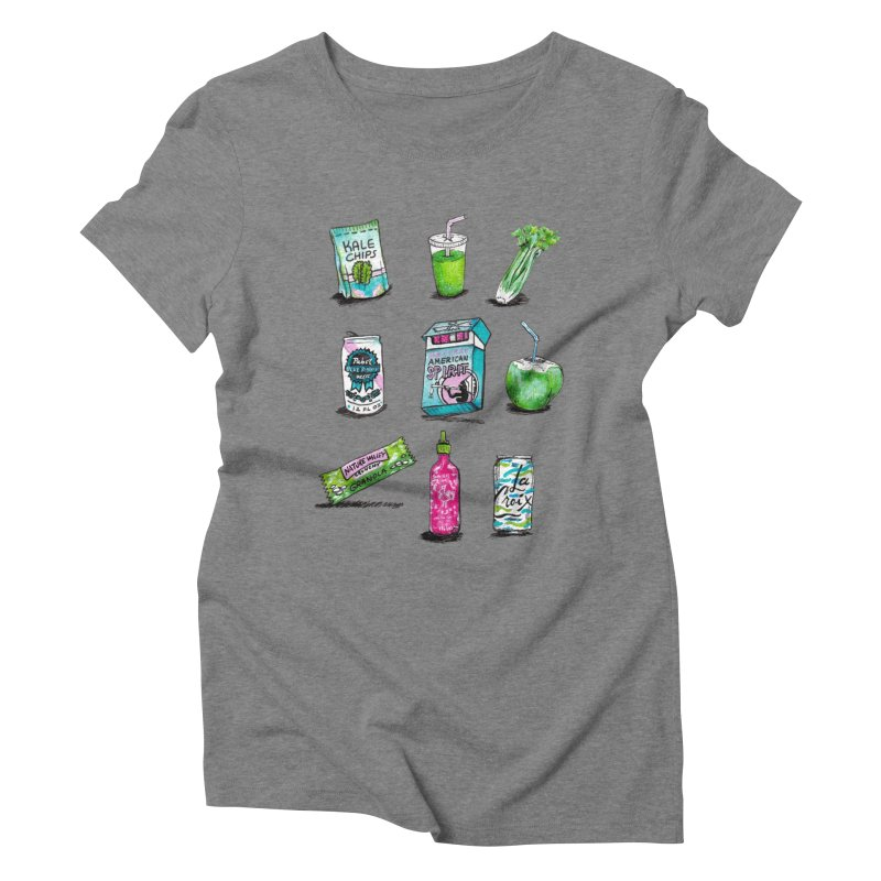 Snacksterpieces - Natural  Women's Triblend T-shirt by PRINTMEGGIN