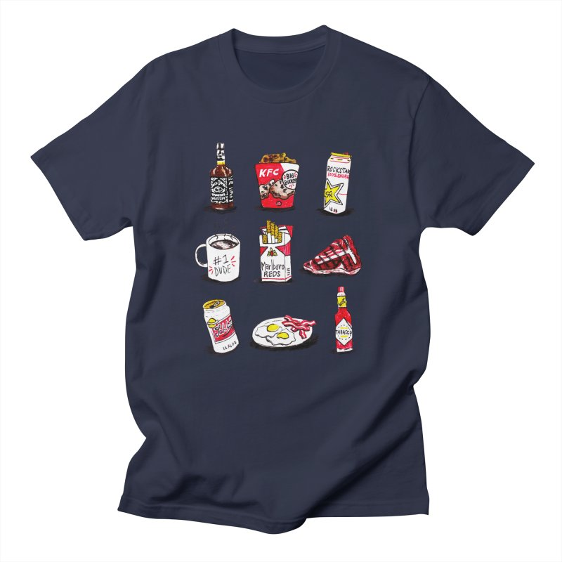 Snacksterpieces - Reds Men's T-Shirt by PRINTMEGGIN