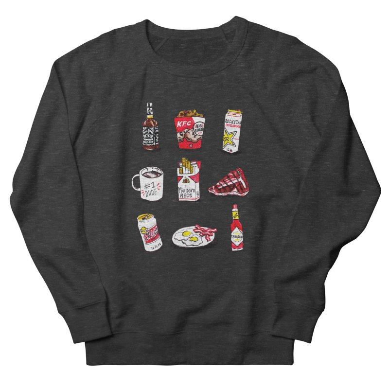 Snacksterpieces - Reds Men's Sweatshirt by PRINTMEGGIN