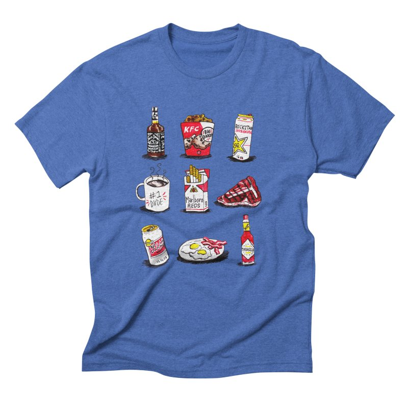 Snacksterpieces - Reds Men's Triblend T-Shirt by PRINTMEGGIN