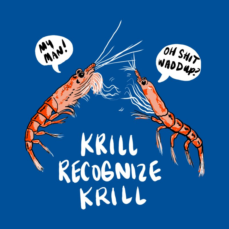 Krill Recognize Krill Men's Triblend T-Shirt by PRINTMEGGIN