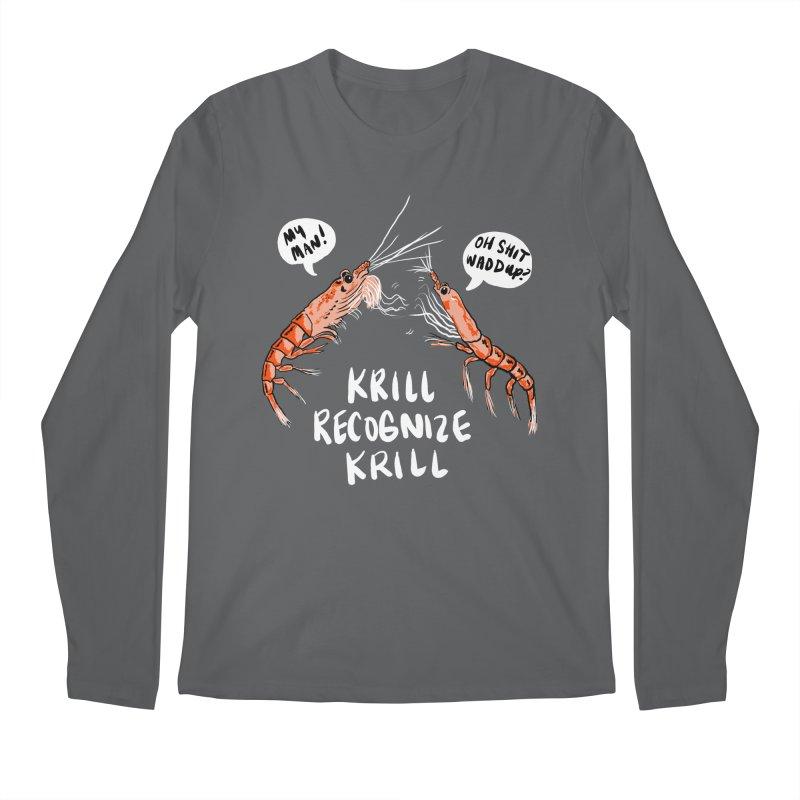 Krill Recognize Krill Men's Longsleeve T-Shirt by PRINTMEGGIN