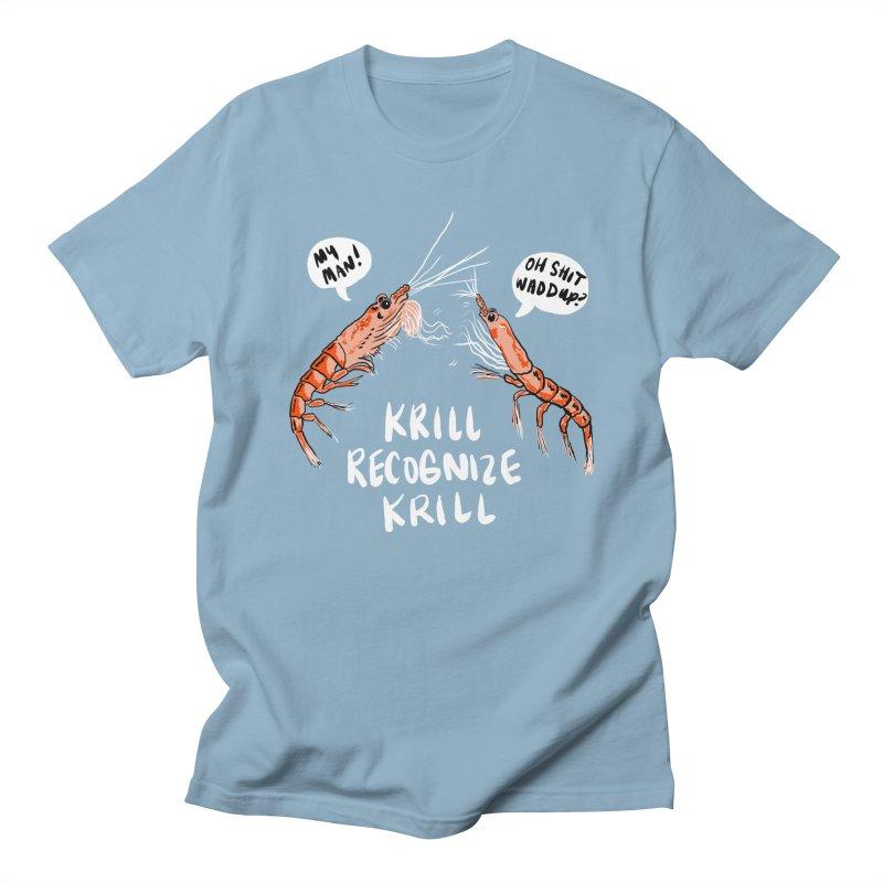 Krill Recognize Krill Men's T-Shirt by PRINTMEGGIN