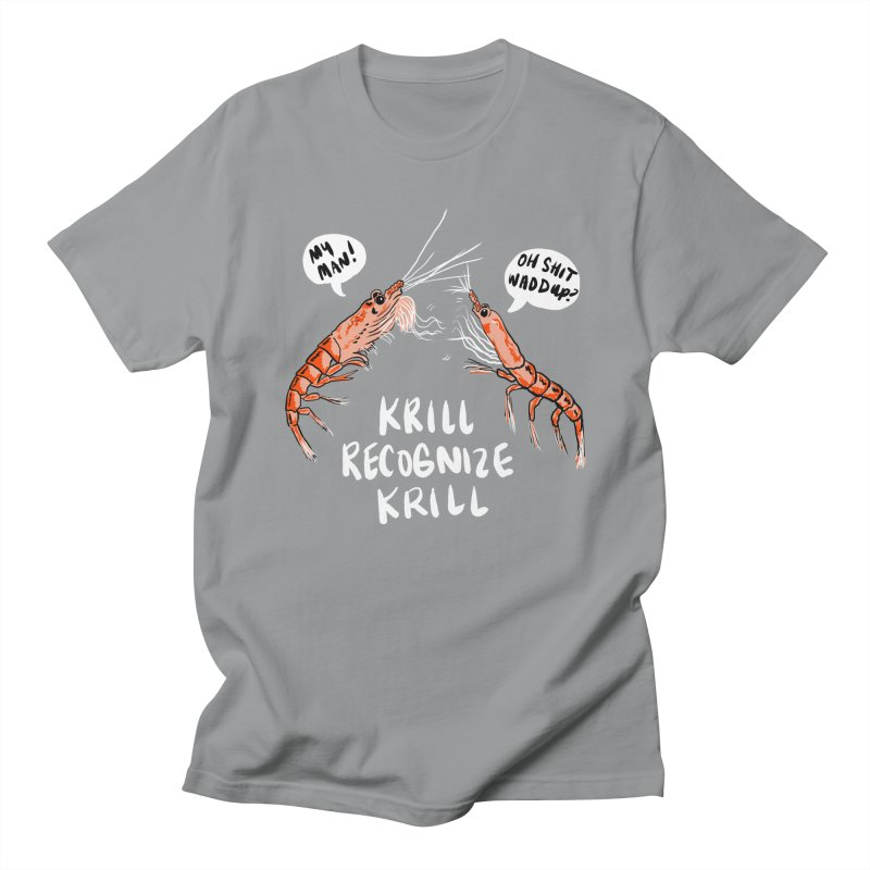 Krill Recognize Krill Men's T-shirt by PRINTMEGGIN