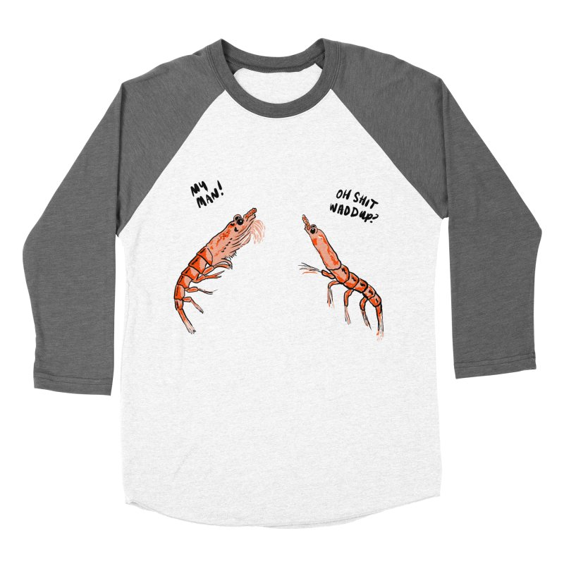Krill Recognize Krill Women's Baseball Triblend T-Shirt by PRINTMEGGIN