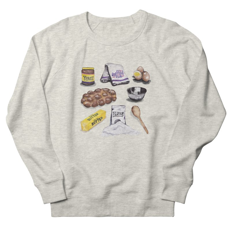 Challah Hub Snacksterpiece Men's Sweatshirt by PRINTMEGGIN