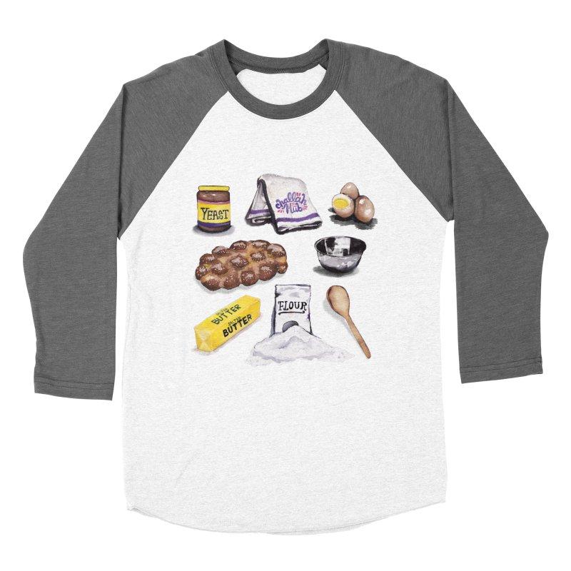 Challah Hub Snacksterpiece Women's Baseball Triblend T-Shirt by PRINTMEGGIN
