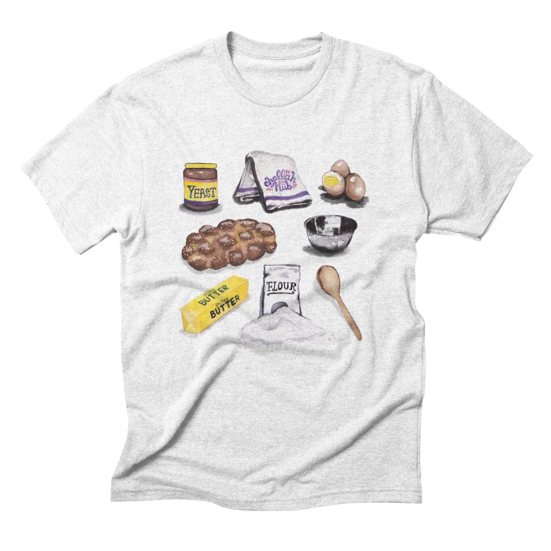 Challah Hub Snacksterpiece Men's Triblend T-shirt by PRINTMEGGIN