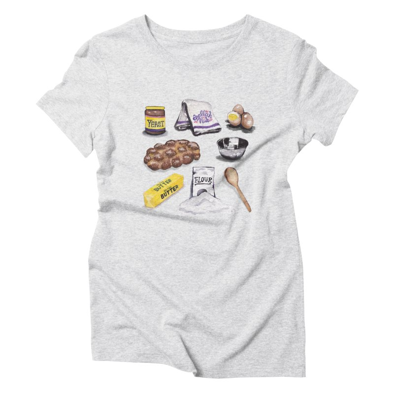 Challah Hub Snacksterpiece Women's Triblend T-shirt by PRINTMEGGIN