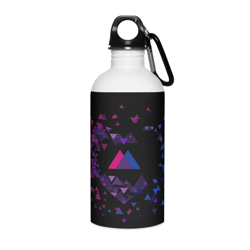 Love + Love + Love Accessories Water Bottle by Prismheartstudio 's Artist Shop