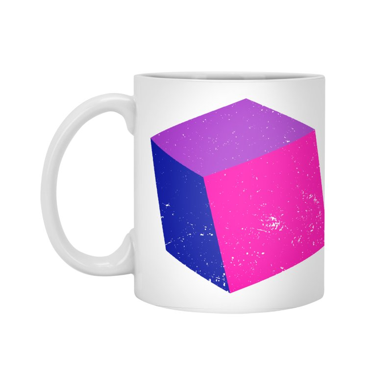 Bi - cubular Accessories Standard Mug by Prismheartstudio 's Artist Shop