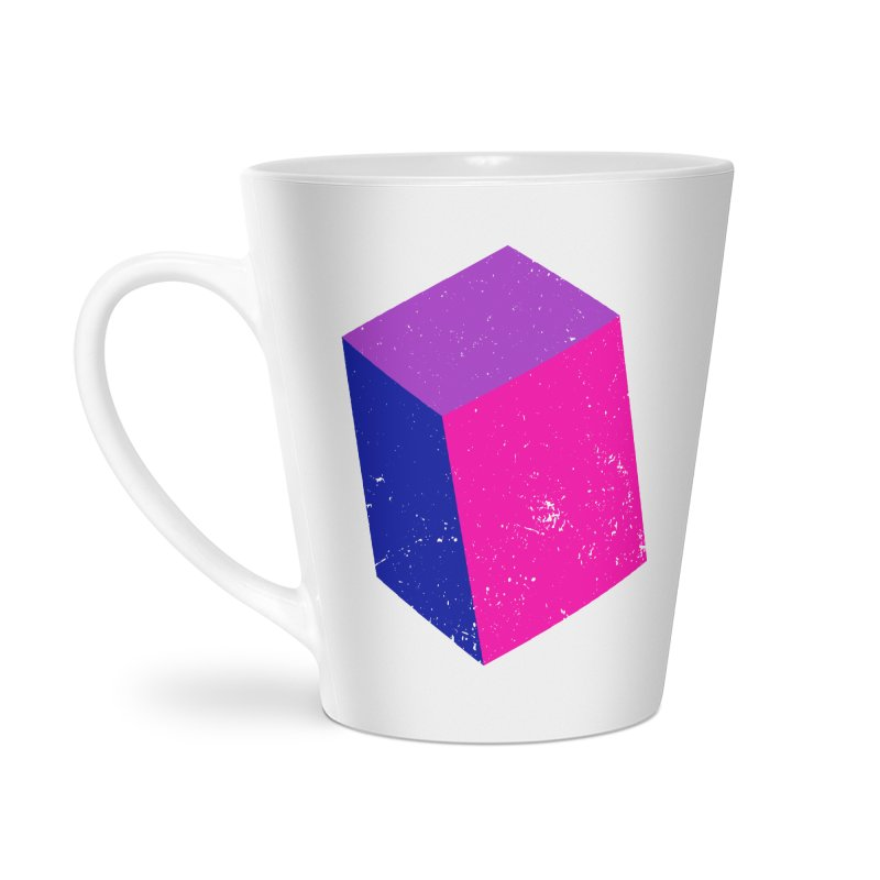 Bi - cubular Accessories Latte Mug by Prismheartstudio 's Artist Shop