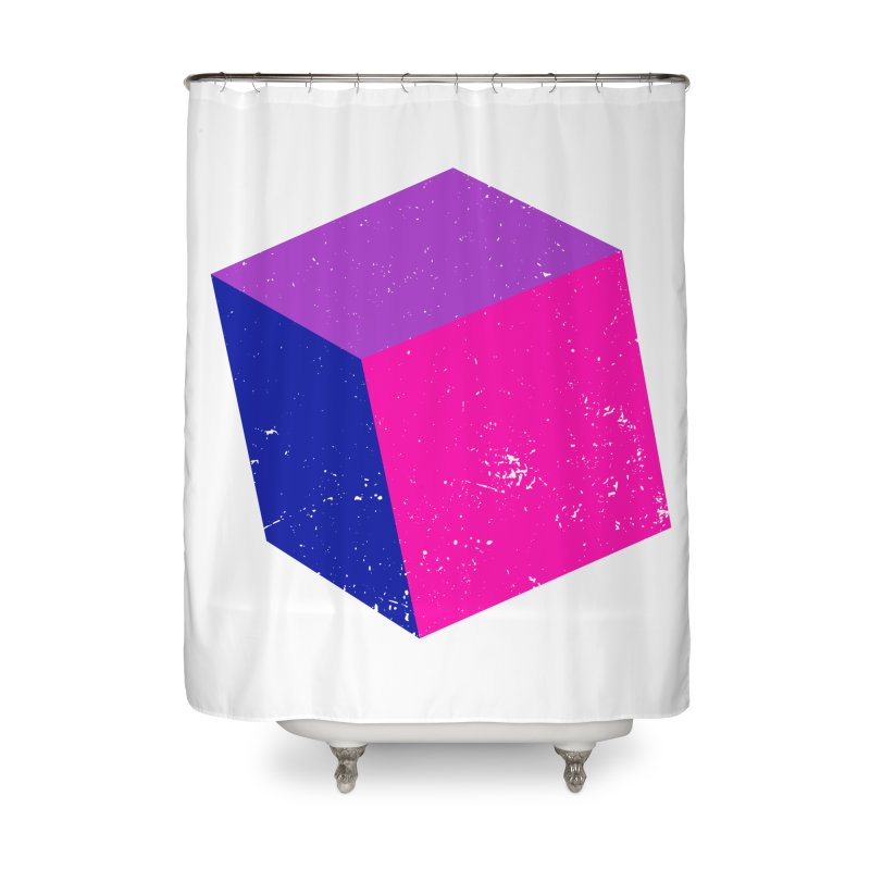 Bi - cubular Home Shower Curtain by Prismheartstudio 's Artist Shop