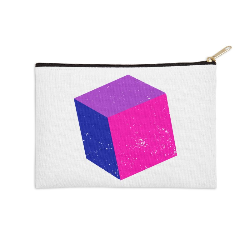 Bi - cubular Accessories Zip Pouch by Prismheartstudio 's Artist Shop