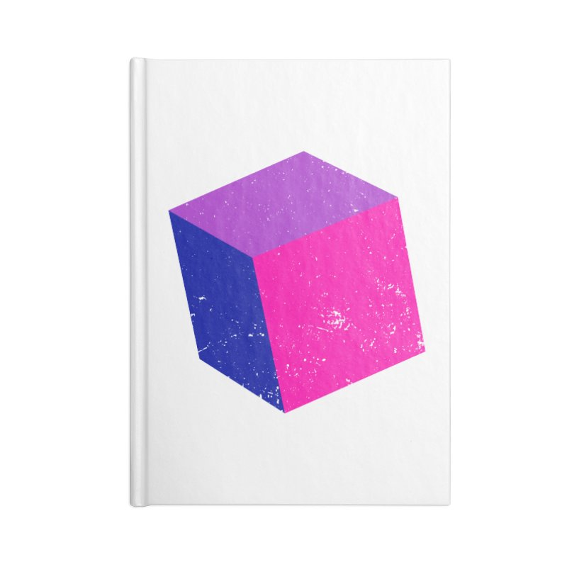 Bi - cubular Accessories Lined Journal Notebook by Prismheartstudio 's Artist Shop