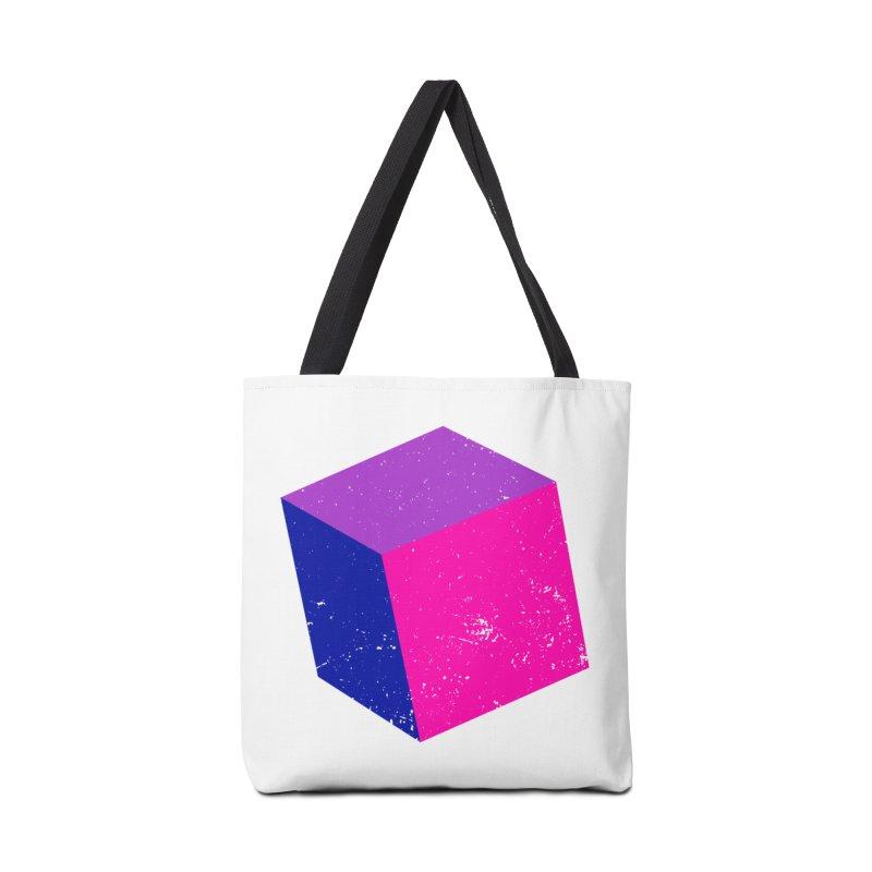Bi - cubular Accessories Tote Bag Bag by Prismheartstudio 's Artist Shop